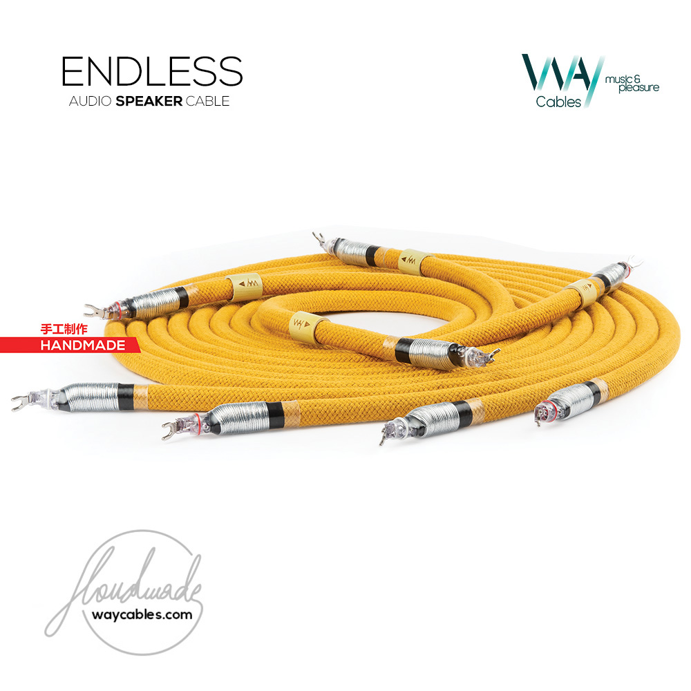 ENDLESS speaker cable